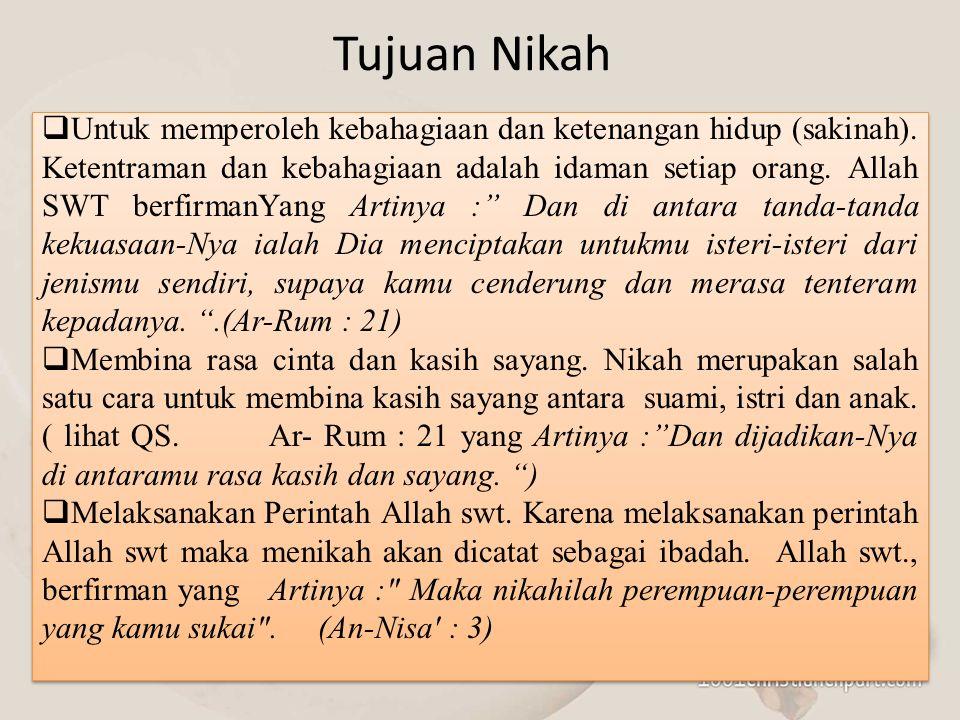 Penyebab seseorang tidak mendapat harta waris ialah: a.Hamba(budak) ia tidak cakap memiliki sebagaimana firman Allah swt.