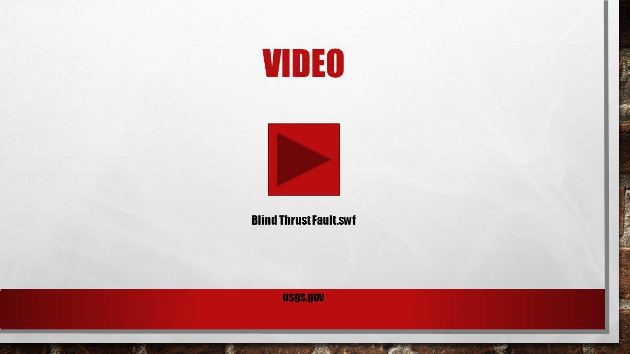 VIDEO Blind Thrust Fault.swf usgs.gov