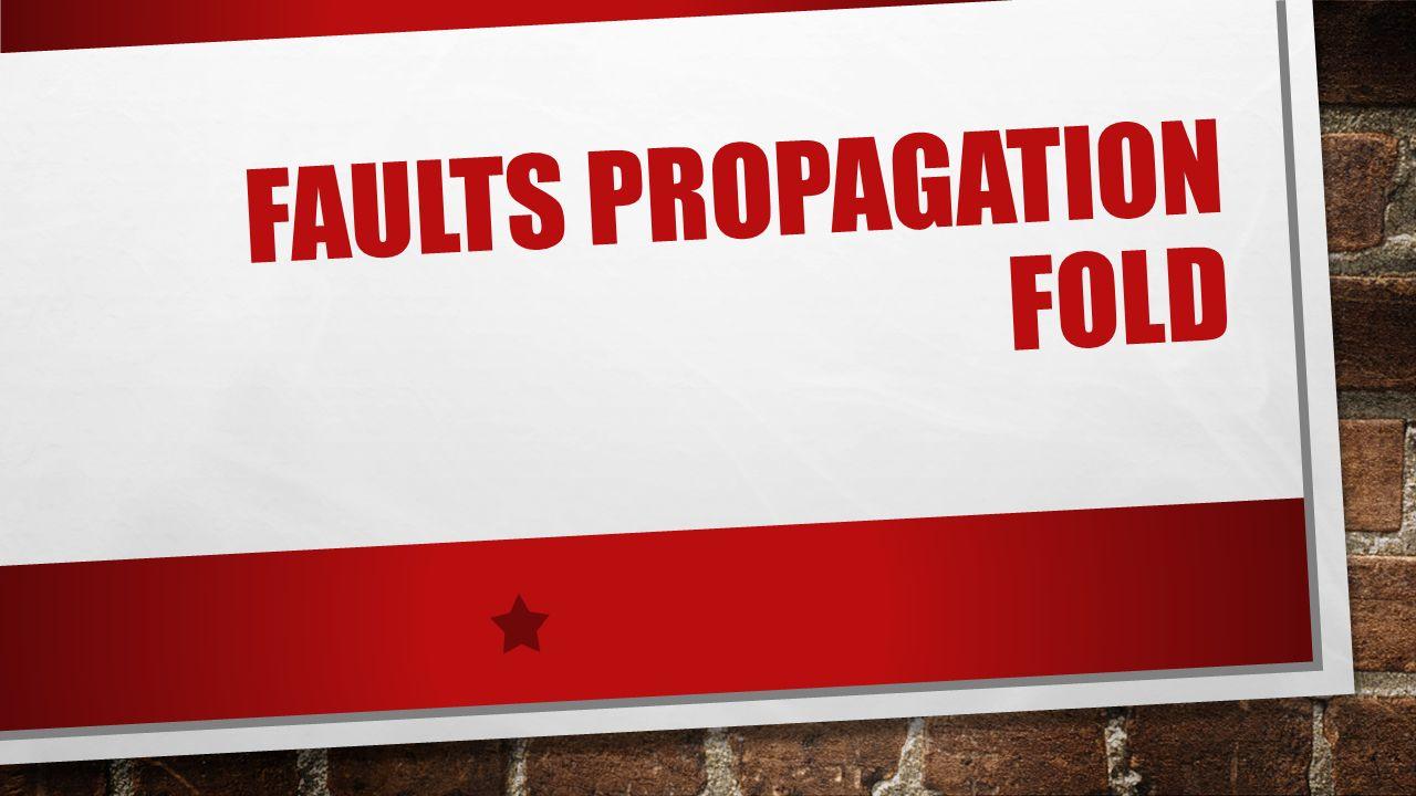 FAULTS PROPAGATION FOLD