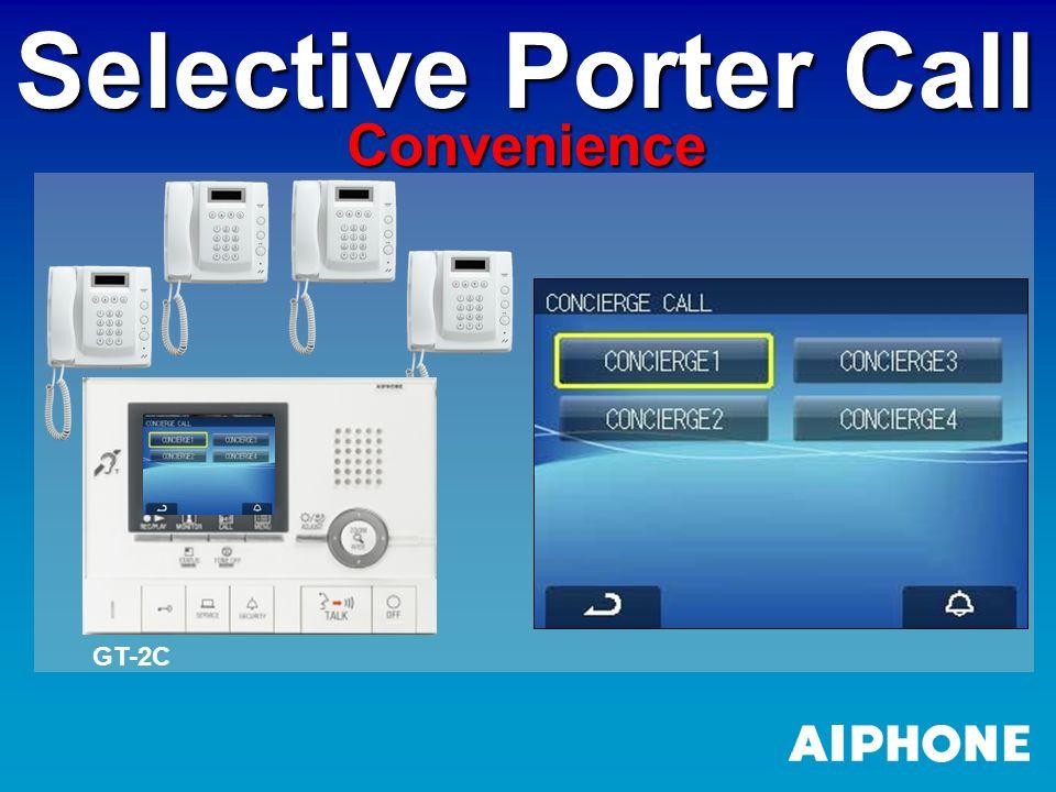 Selective Porter Call Convenience GT-2C