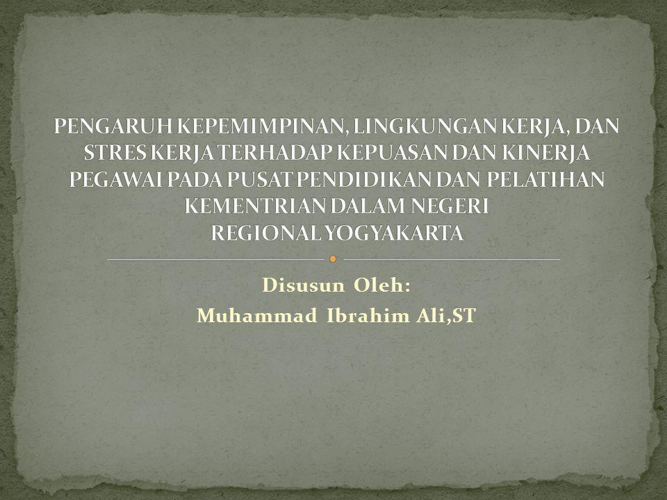 Disusun Oleh: Muhammad Ibrahim Ali,ST