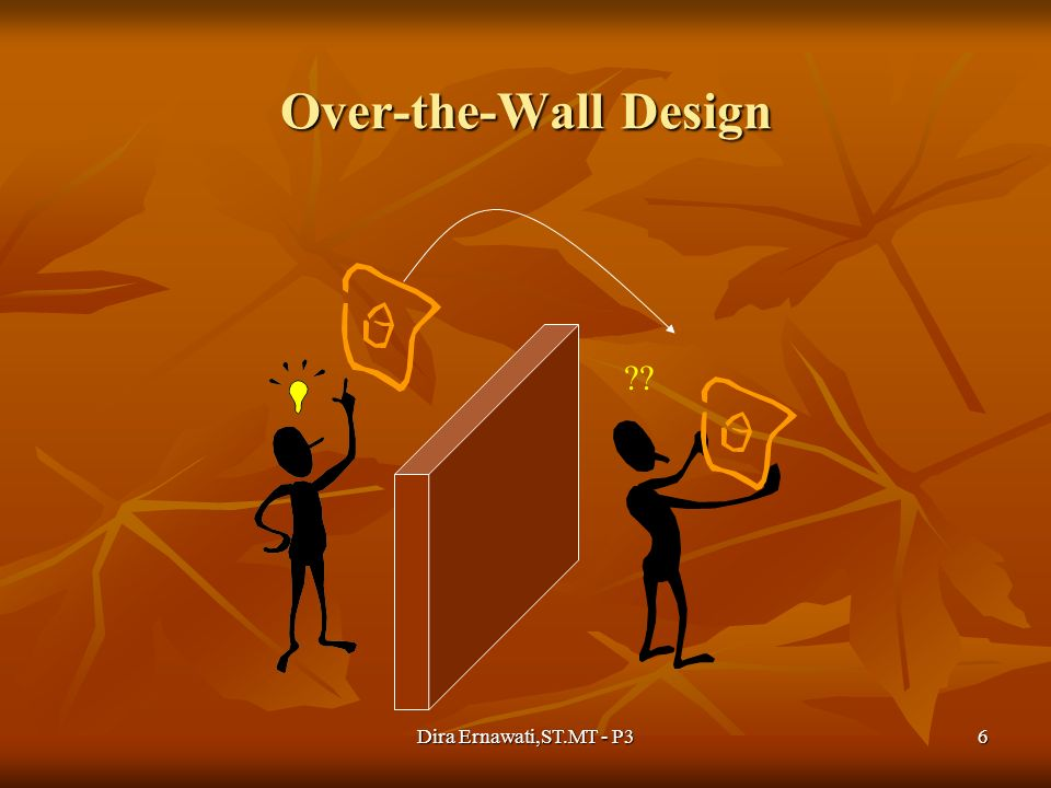 Dira Ernawati,ST.MT - P36 Over-the-Wall Design ??