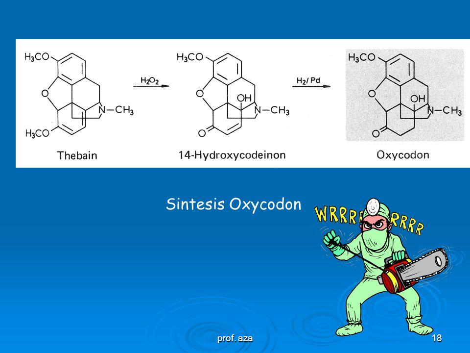 prof. aza17 Sintesis Ethylmorphin Sintesis Thebacon