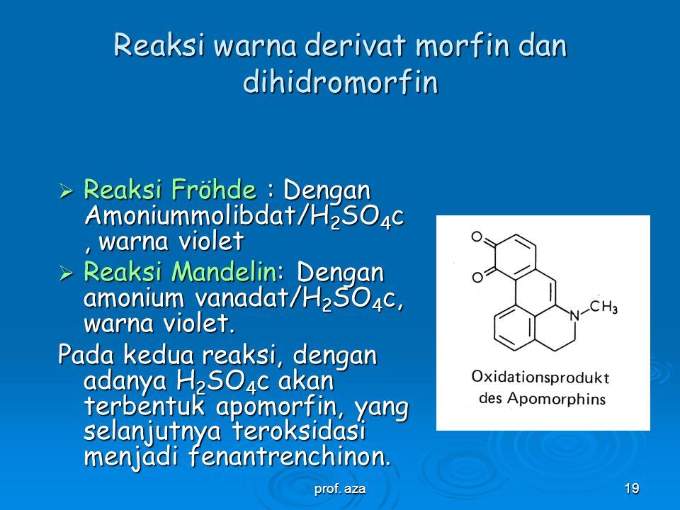 prof. aza18 Sintesis Oxycodon