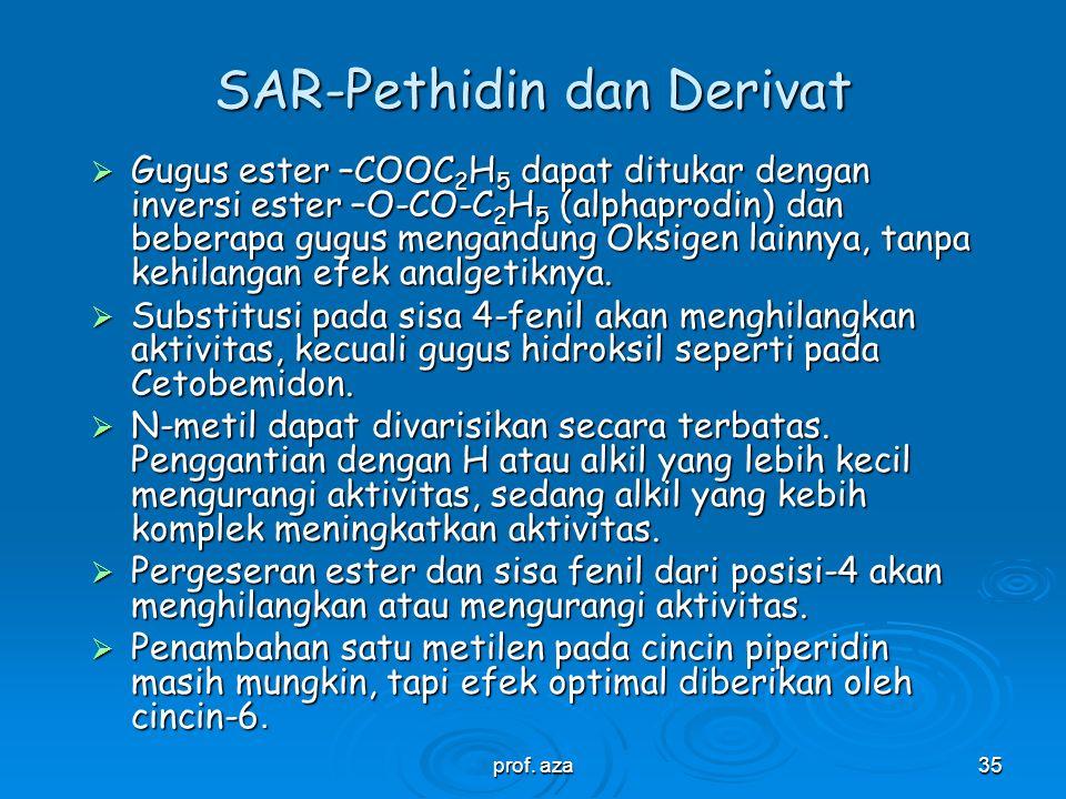 prof. aza34 Golongan Pethidin