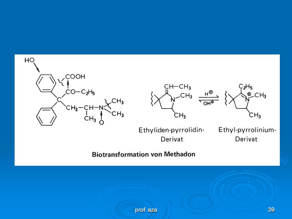prof. aza38 Mempunyai kesamaan dengan struktur morfin dengan adanya C-kuartener yang melalui jembatan C-C dihubungkan dengan N-tersier. Dan adanya sub