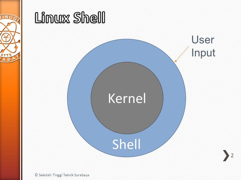 2 Shell Kernel User Input