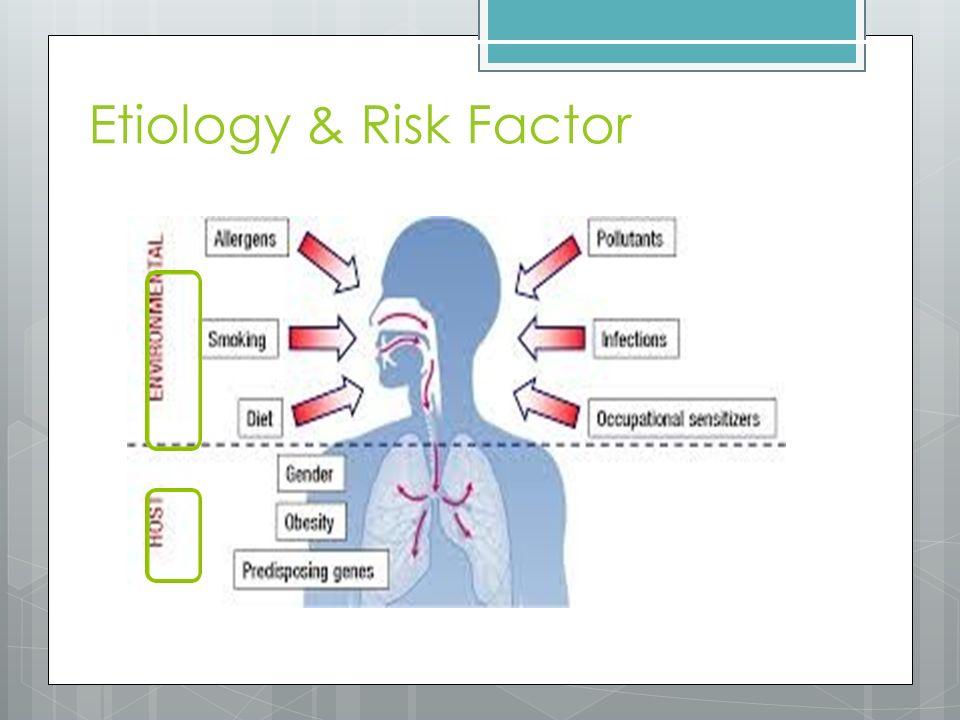 Patofisiology Inflamasi Bronkrokons triksi Hipersekresi mukus Hiperres ponsif