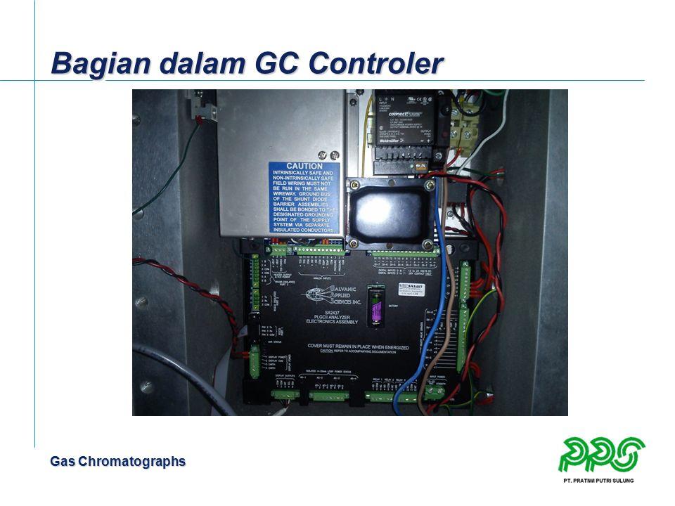 Gas Chromatographs Bagian dalam GC Controler