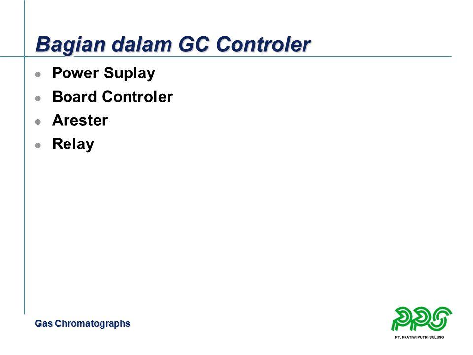 Gas Chromatographs Bagian dalam GC Controler Power Suplay Board Controler Arester Relay