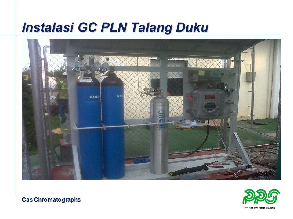 Gas Chromatographs Instalasi GC PLN Talang Duku