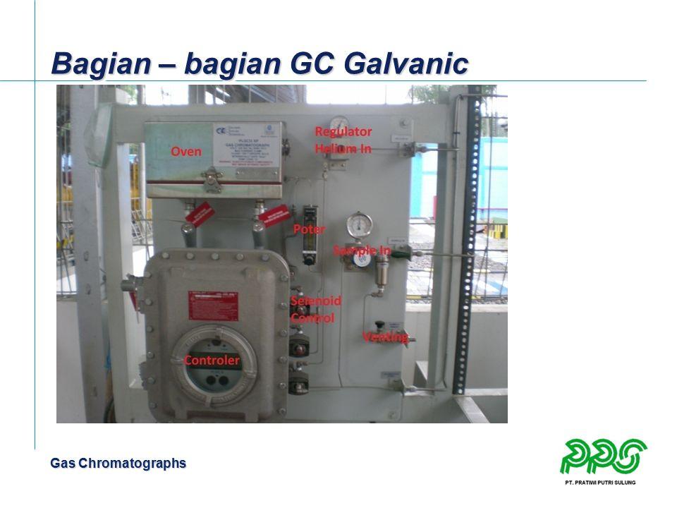 Gas Chromatographs Bagian – bagian GC Galvanic