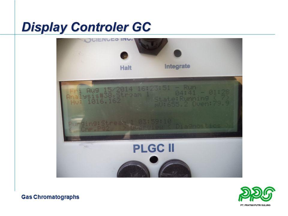 Gas Chromatographs Display Controler GC