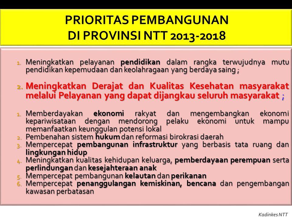 Sumber : DiINKES PROVINSI NTT, BPSDMK, 2014