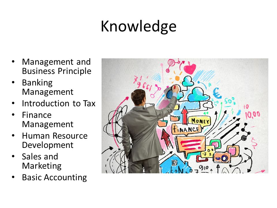 Knowledge Management and Business Principle Banking Management Introduction to Tax Finance Management Human Resource Development Sales and Marketing B