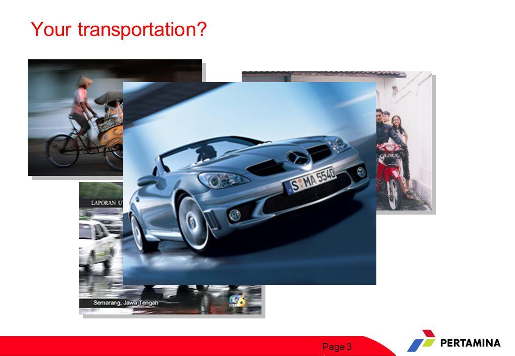 Page 24 Why??? Indonesia Pasar Potensial Kendaraan Bermotor