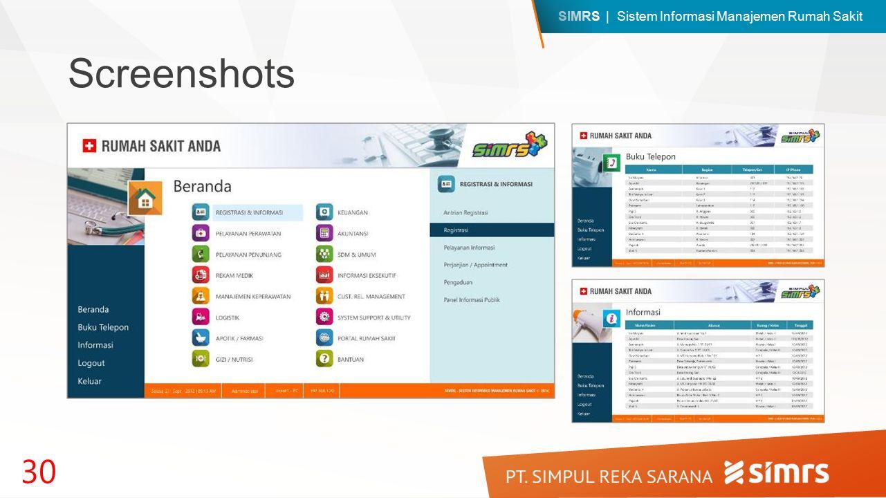 SIMRS | Sistem Informasi Manajemen Rumah Sakit Screenshots 30