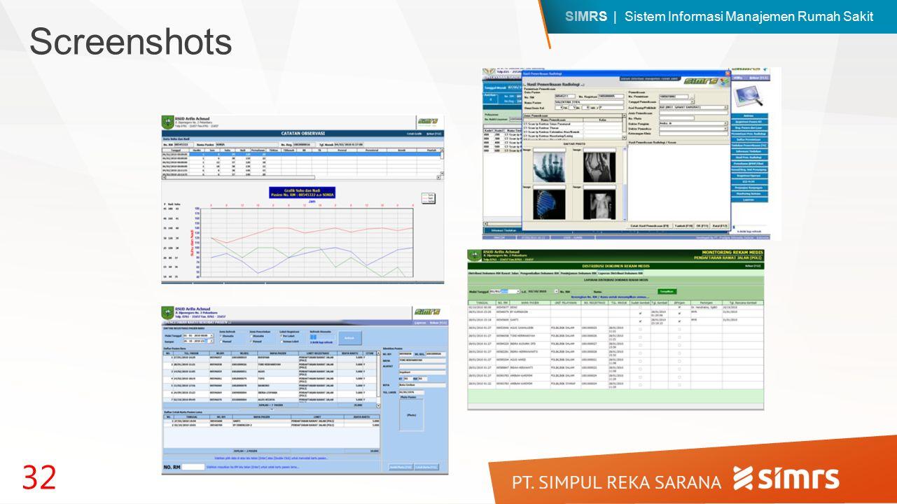 SIMRS | Sistem Informasi Manajemen Rumah Sakit 32 Screenshots