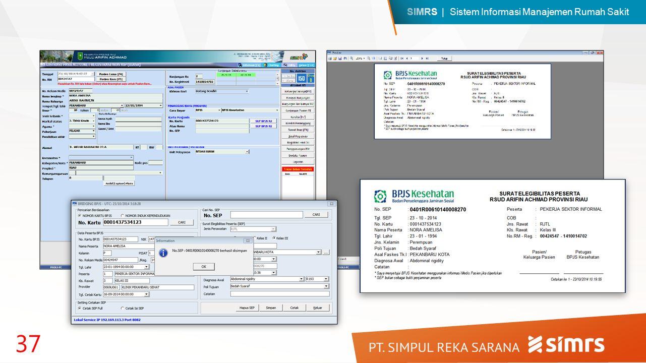 SIMRS | Sistem Informasi Manajemen Rumah Sakit 37