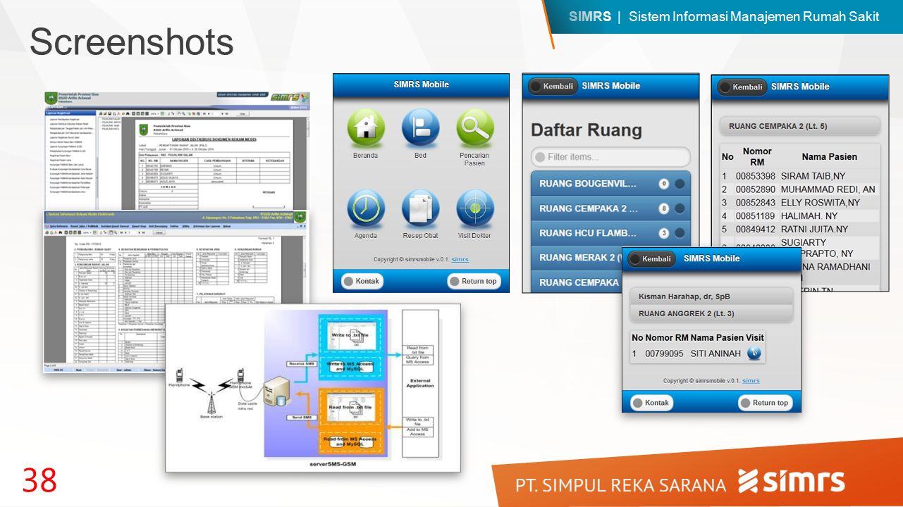 SIMRS | Sistem Informasi Manajemen Rumah Sakit 38 Screenshots
