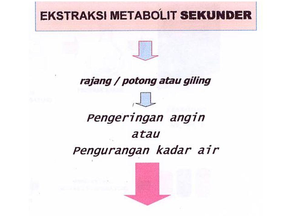 Bagan ekstraksi & isolasi