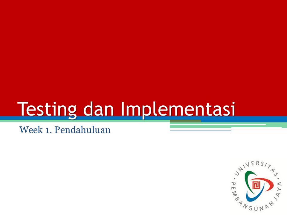 Objective Mahasiswa dapat menjelaskan tentang perlunya Manajemen kualitas (Quality Management) terhadap perangkat lunak Mahasiswa dapat menjelaskan peranan Software Quality Assurance terhadap mutu dari suatu perangkat lunak.
