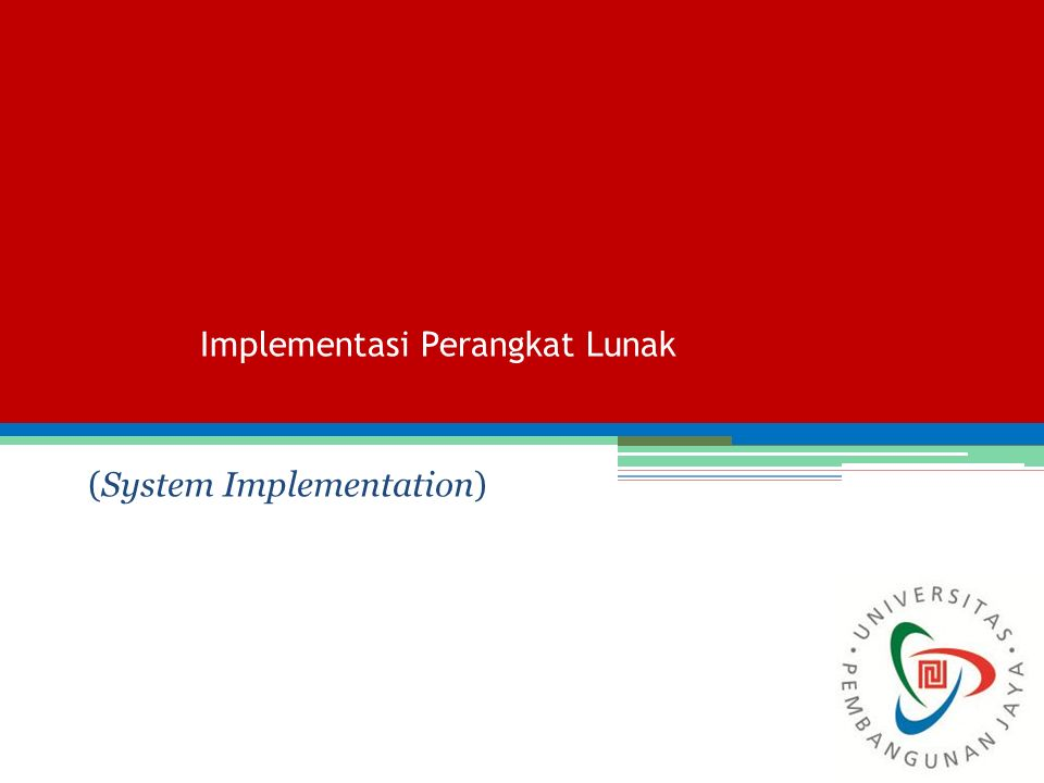 System Implementation System Implementation or Adoption deals with the transfer (conversion) between an old system to a target system in an organization.