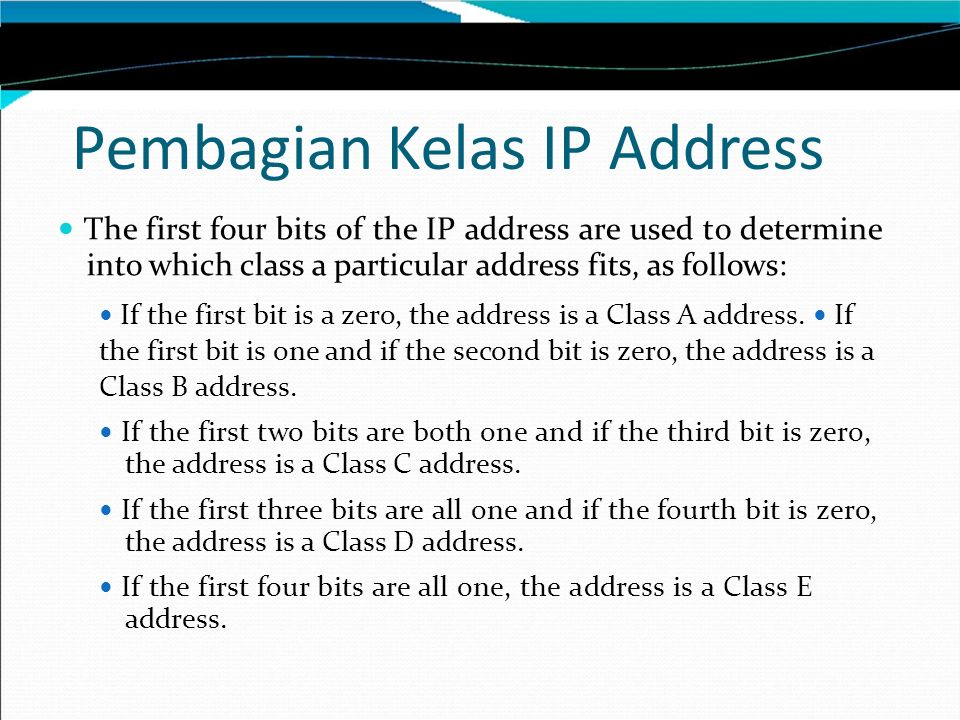 IP Block Parties Given an IP address in CIDR notation, it's useful to be able to determine the range of actual IP addresses that the CIDR represents.