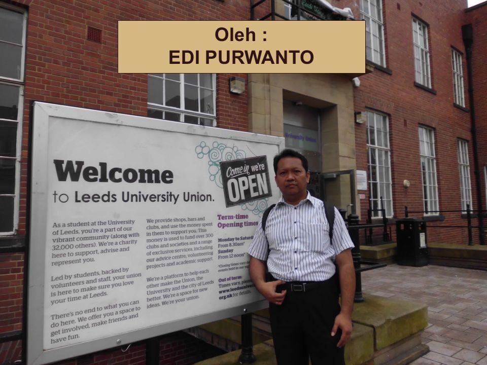 Dosen Pengampu … Oleh : EDI PURWANTO