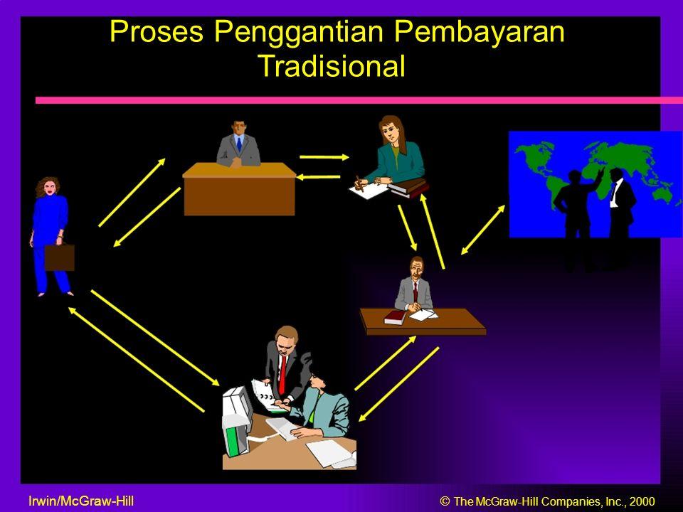 Proses Penggantian Pembayaran Tradisional Irwin/McGraw-Hill  The McGraw-Hill Companies, Inc., 2000