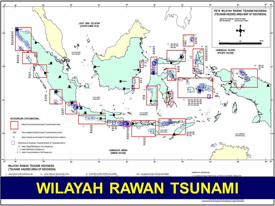LATAR BELAKANG 1. Berada pada 3 Lempeng Utama Tektonik Dunia (Eurasia, India Australia dan Samudra Fasifik) 2. Tatanan PB di Indonesia belum Sistemati