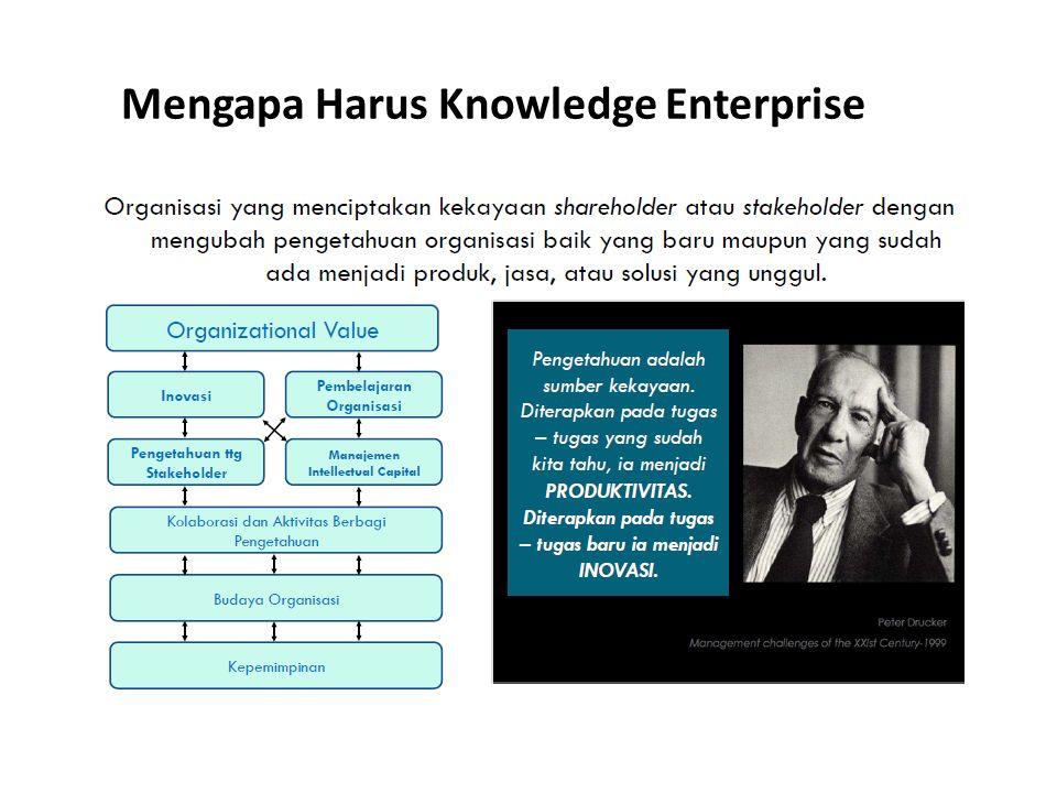 Mengapa Harus Knowledge Enterprise