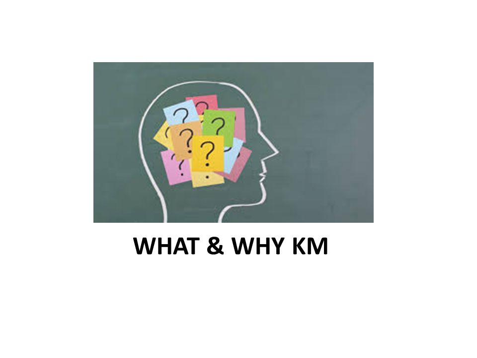 WHAT & WHY KM
