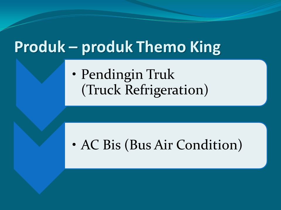 Produk – produk Themo King Pendingin Truk (Truck Refrigeration) AC Bis (Bus Air Condition)