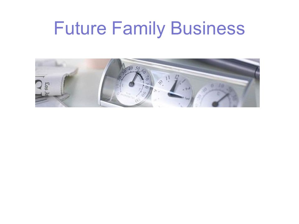 Future Family Business
