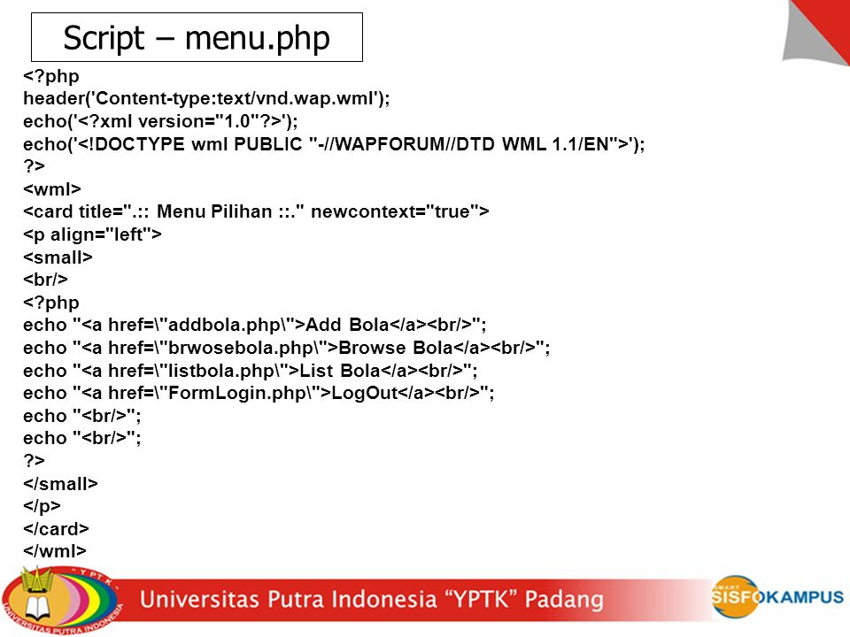 <?php header('Content-type:text/vnd.wap.wml'); echo(' '); ?> <?php echo