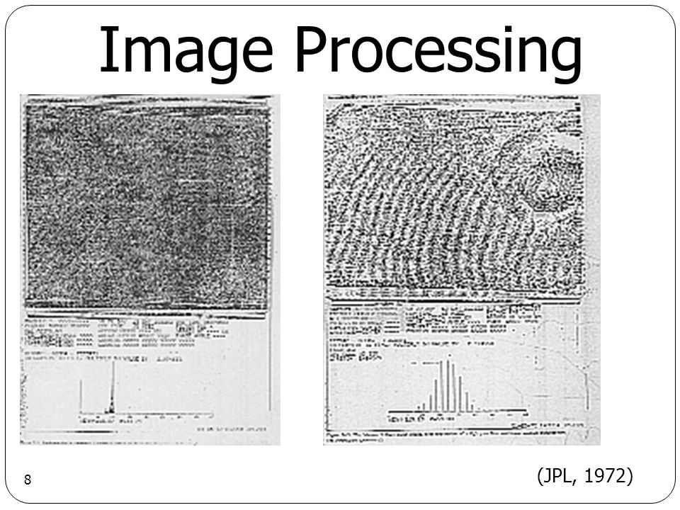 8 Image Processing (JPL, 1972)