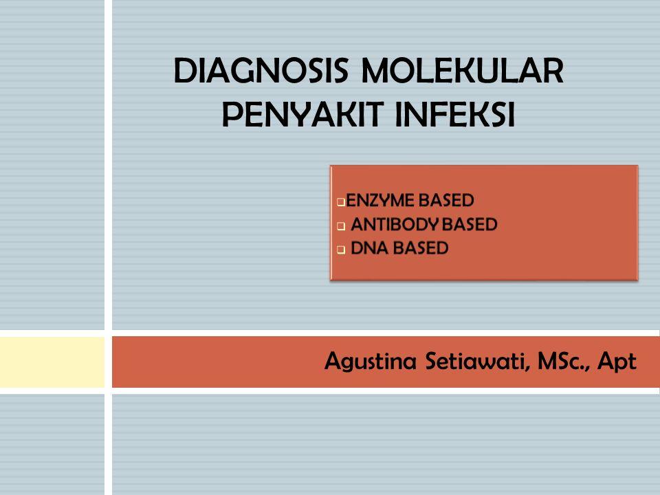 Agustina Setiawati, MSc., Apt DIAGNOSIS MOLEKULAR PENYAKIT INFEKSI
