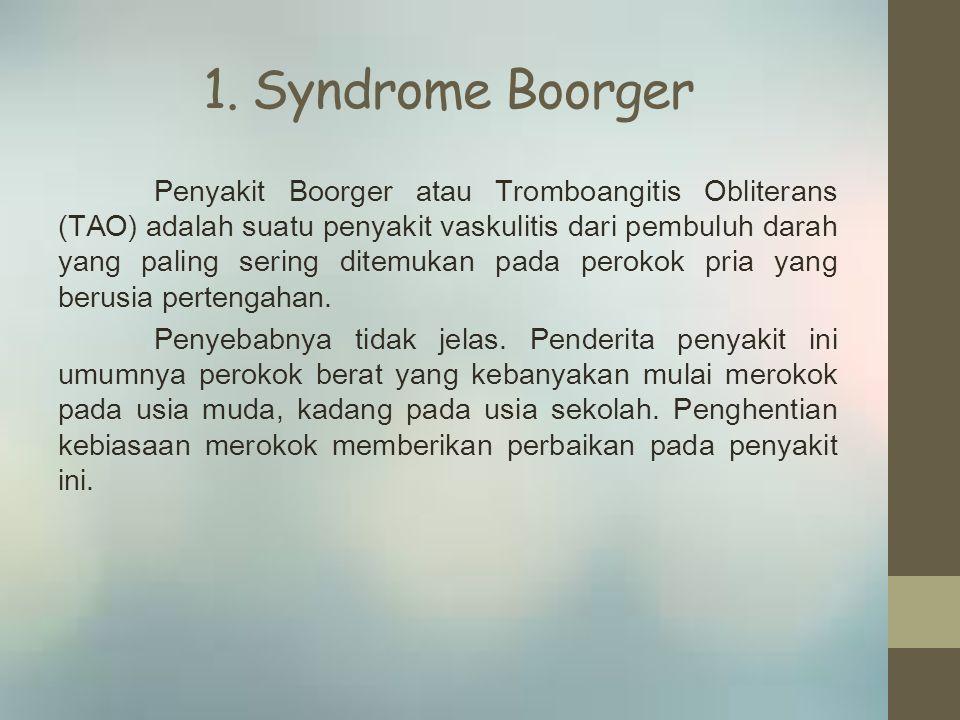 Klasifikasi Terdiri dari : 1.Sumbatan arteri trombotik 2.Keadaan hiperkoagulasi 3.Sumbatan arteri embolik 4.Jenis lain dari sumbatan arteri akut