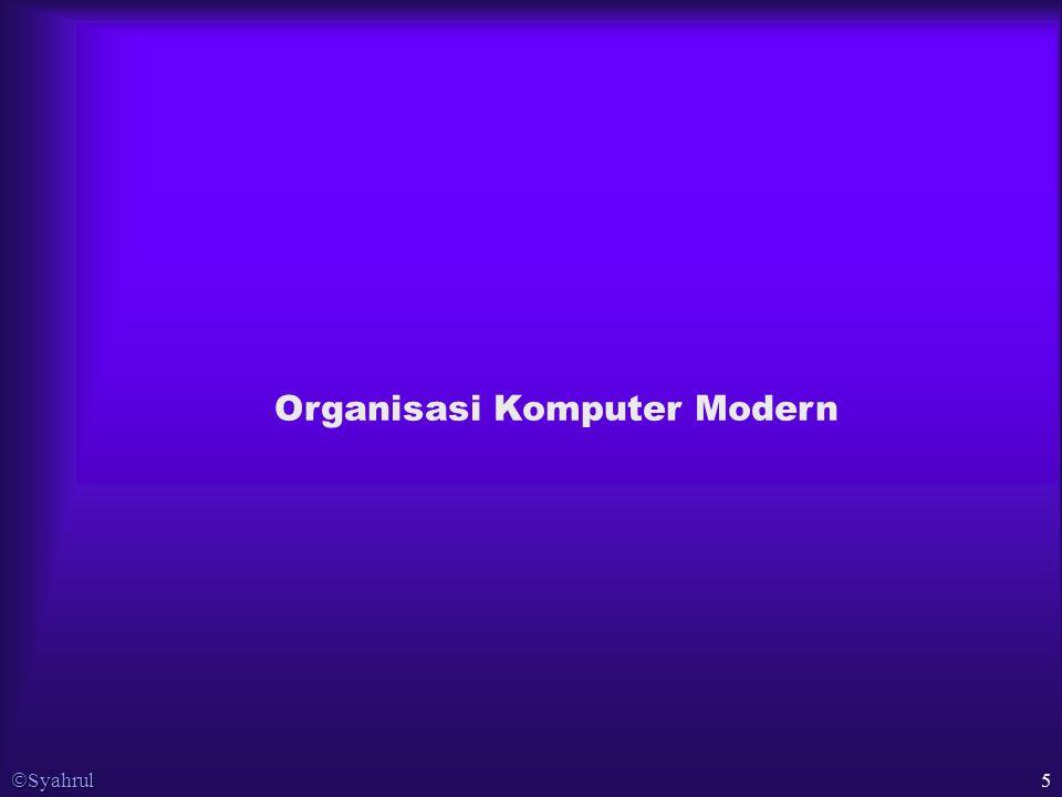  Syahrul 5 Organisasi Komputer Modern