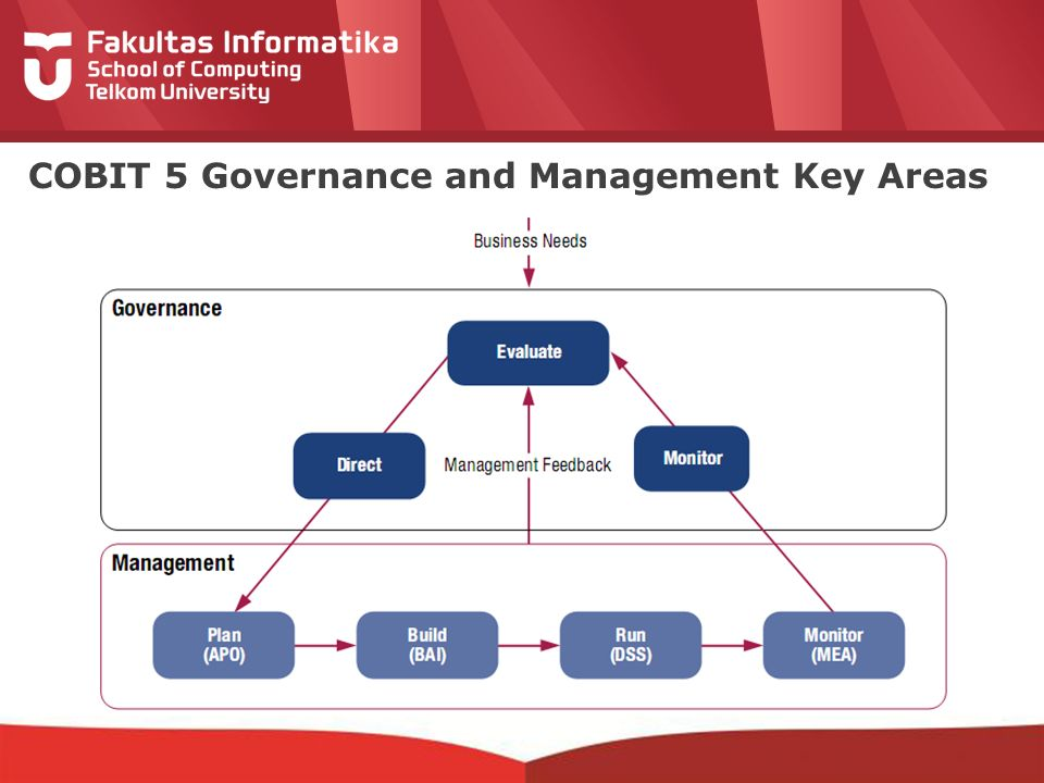 12-CRS-0106 REVISED 8 FEB 2013 COBIT 5 Governance and Management Key Areas