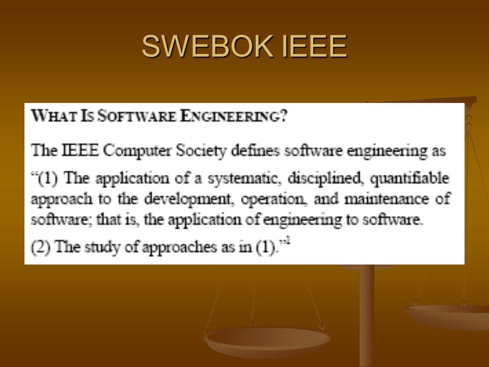 SWEBOK IEEE