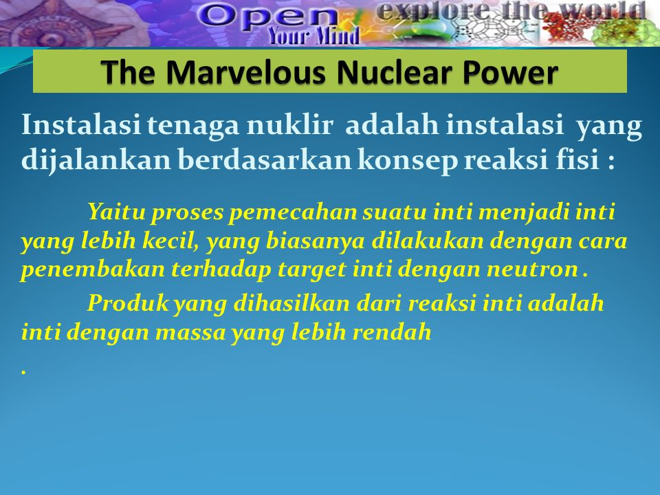 Is the power of the future and always will be .