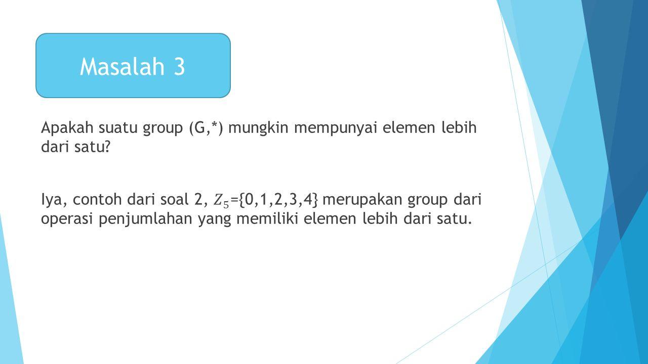 Masalah 3