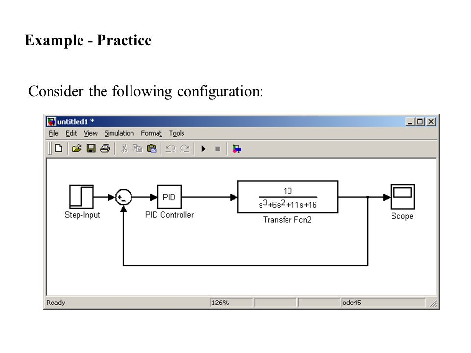 Consider the following configuration: Example - Practice