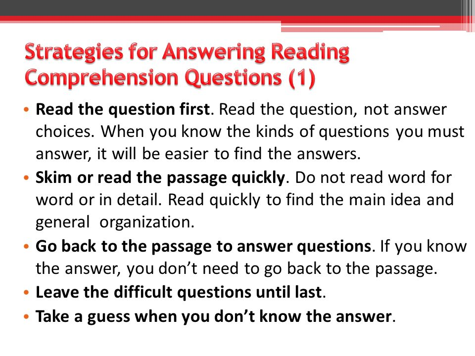 1.Where in the passage does the author first mention how the test is given.