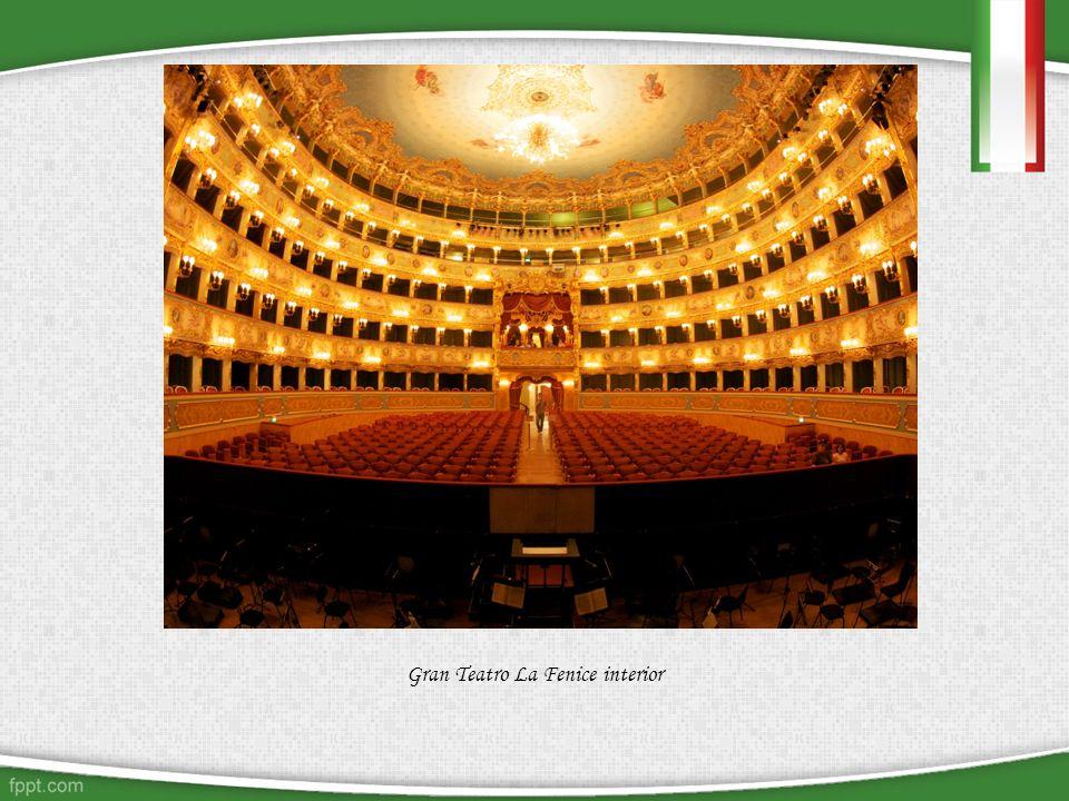 Gran Teatro La Fenice interior