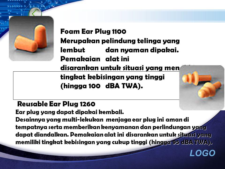LOGO Contoh Alat- Alat PAD Ear Muff Contoh Alat- Alat PAD Ear Muff Corded Foam Ear Plug 1110 Merupakan foam yang lembut dan dilengkapi dengan tali penghubung sehingga nyaman dan mudah dipakai.