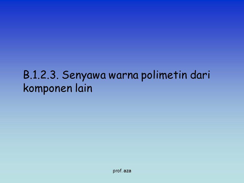 B.1.2.3. Senyawa warna polimetin dari komponen lain prof. aza