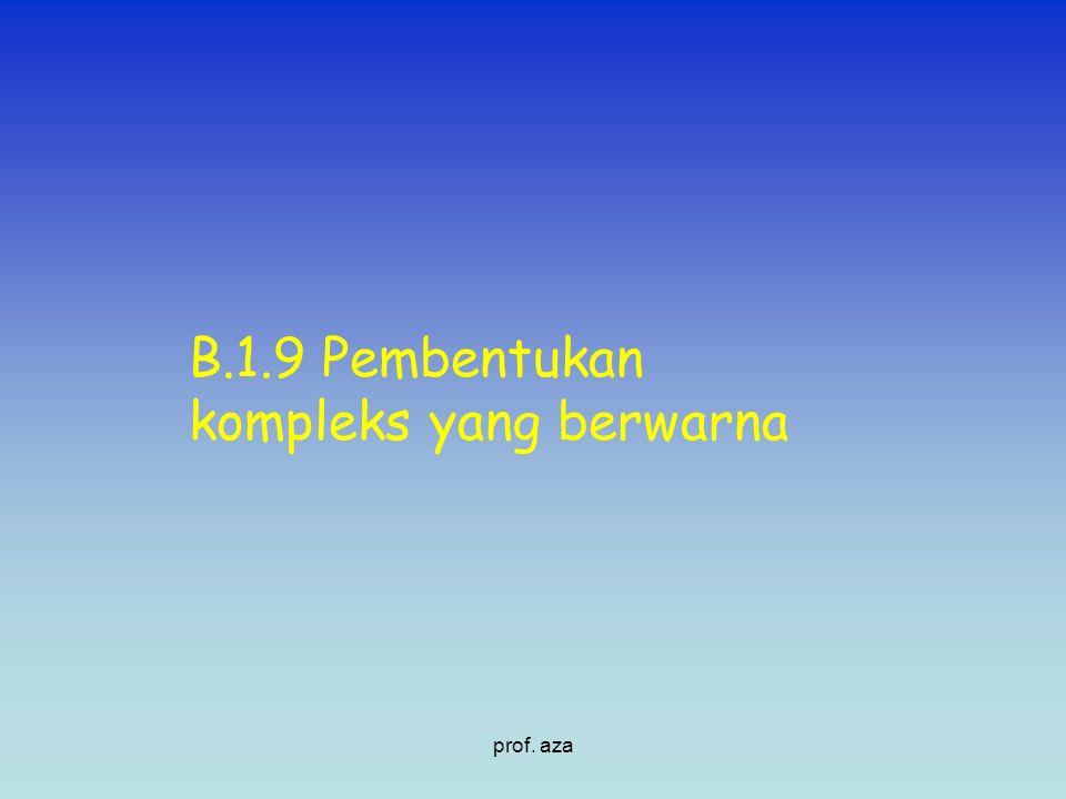 B.1.9 Pembentukan kompleks yang berwarna prof. aza